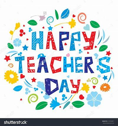 CaSPA wishes all the staff in all our schools a Happy Teacher's Day - October 26,2018